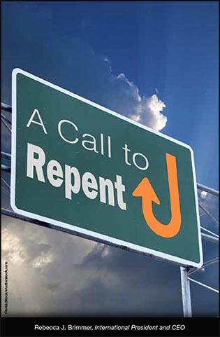 A Call To Repent Bridges For Peacebridges For Peace