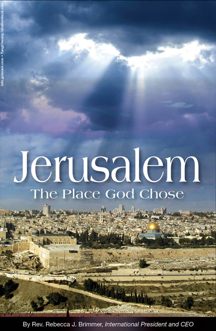 jerusalem  the place god chose